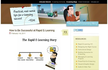 http://www.articulate.com/rapid-elearning/how-to-be-successful-at-rapid-e-learning/