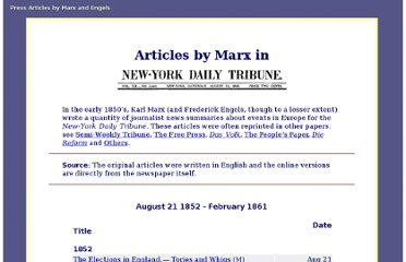 http://www.marxists.org/archive/marx/works/subject/newspapers/new-york-tribune.htm