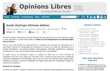 http://www.oezratty.net/wordpress/2011/guide-startups-edition-14/