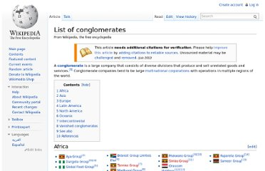 http://en.wikipedia.org/wiki/List_of_conglomerates