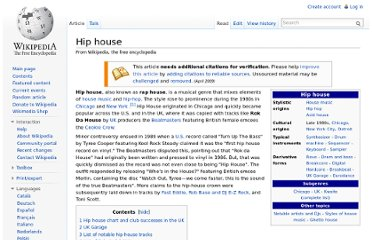 http://en.wikipedia.org/wiki/Hip_house