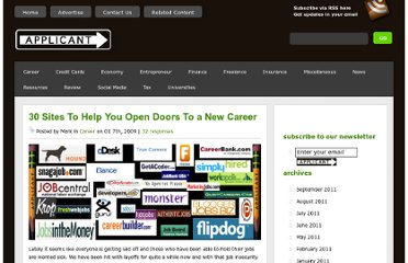http://applicant.com/30-sites-that-might-open-doors-to-a-new-career/