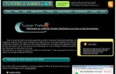 http://www.tutoriels-animes.com/telecharger-videos-internet-youtube-dailymotion.html