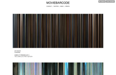 http://moviebarcode.tumblr.com/