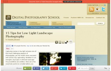 http://www.digital-photography-school.com/15-tips-for-low-light-landscape-photography