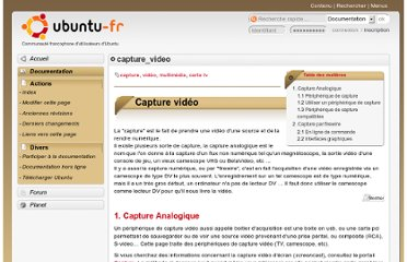 http://doc.ubuntu-fr.org/capture_video