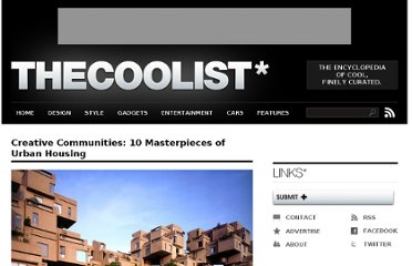 http://www.thecoolist.com/housing-design-10-masterpieces-of-urban-community/