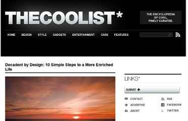http://www.thecoolist.com/10-simple-products-for-a-more-enriched-life/