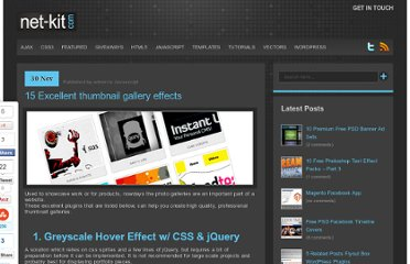 http://www.net-kit.com/15-excellent-thumbnail-gallery-effects/
