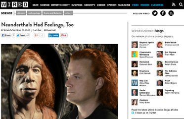 http://www.wired.com/wiredscience/2010/10/neanderthal-feelings/