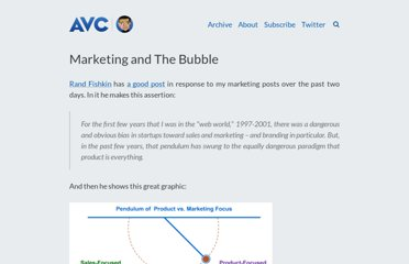 http://www.avc.com/a_vc/2011/02/marketing-and-the-bubble.html