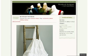 http://wkdesigner.wordpress.com/2008/09/17/ruffled-totebag/