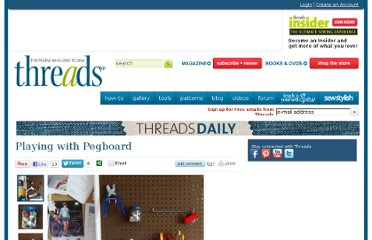 http://www.threadsmagazine.com/item/14410/playing-with-pegboard