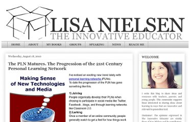 http://theinnovativeeducator.blogspot.com/2010/08/pln-matures-progression-of-21st-century.html
