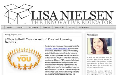 http://theinnovativeeducator.blogspot.com/2010/08/5-ways-to-build-your-10-and-20-personal.html
