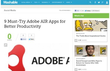 http://mashable.com/2009/02/23/adobe-air-productivity-apps/