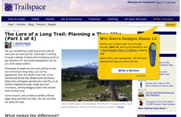 http://www.trailspace.com/articles/planning-thru-hike.html