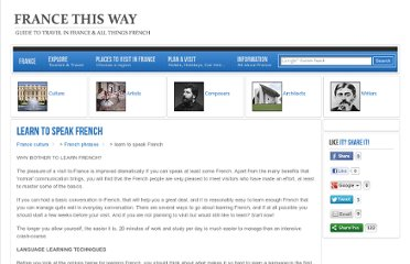 http://www.francethisway.com/culture/learn-to-speak-french.php