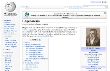 http://en.wikipedia.org/wiki/Hegelianism#Philosophy_of_history