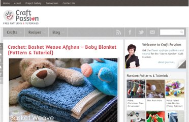 http://www.craftpassion.com/2010/11/crochet-basket-weave-afghan-baby-blanket-pattern-tutorial.html