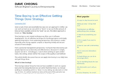 http://www.davecheong.com/2006/07/26/time-boxing-is-an-effective-getting-things-done-strategy/