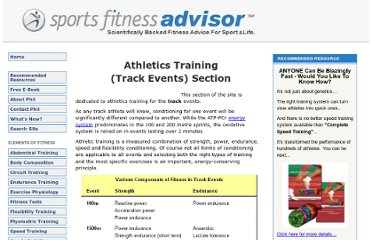 http://www.sport-fitness-advisor.com/athletics-training.html