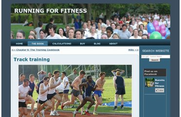 http://www.runningforfitness.org/book/chapter-9-the-training-cookbook/track-training