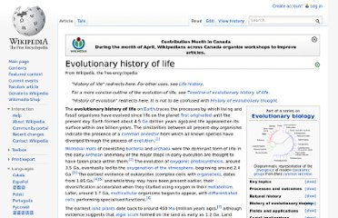 http://en.wikipedia.org/wiki/Evolutionary_history_of_life
