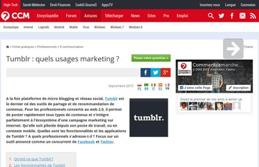 http://www.commentcamarche.net/faq/31010-tumblr-quels-usages-marketing