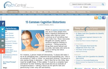 http://psychcentral.com/lib/2009/15-common-cognitive-distortions/