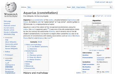 http://en.wikipedia.org/wiki/Aquarius_(constellation)