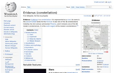 http://en.wikipedia.org/wiki/Eridanus_(constellation)