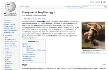 http://en.wikipedia.org/wiki/Ganymede_(mythology)