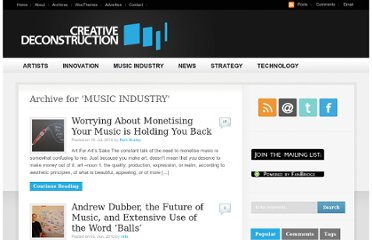 http://www.creativedeconstruction.com/category/music-industry/