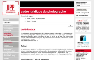 http://www.upp-auteurs.fr/profession_photographe.php?section=juridique