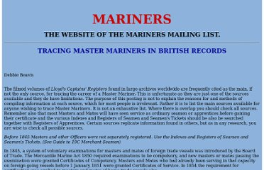 http://www.mariners-l.co.uk/UKMasters.html