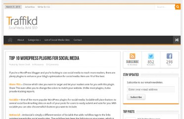 http://traffikd.com/resources/wordpress-plugins-social-media/