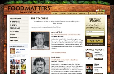 http://www.foodmatters.tv/_webapp/the%20teachers