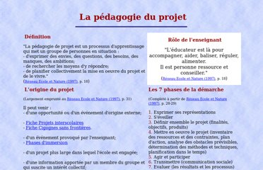 http://www.lmg.ulg.ac.be/competences/chantier/methodo/meth_projet1.html