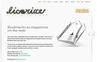 http://licorize.com/applications/licorize/site/bookmarks-as-magazines.jsp