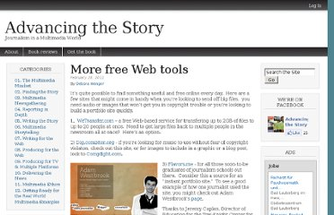 http://www.advancingthestory.com/2011/02/28/more-free-web-tools/