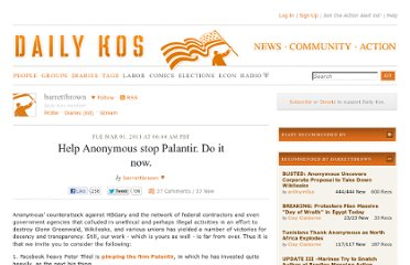 http://www.dailykos.com/story/2011/03/01/951314/-Help-Anonymous-stop-Palantir-Do-it-now