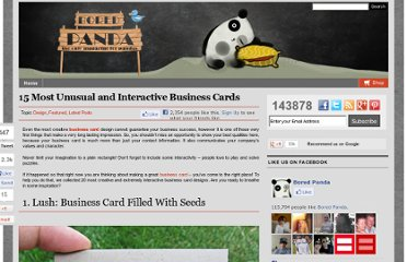 http://www.boredpanda.com/unusual-and-interactive-business-cards/