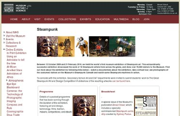 http://www.mhs.ox.ac.uk/exhibits/steampunk/