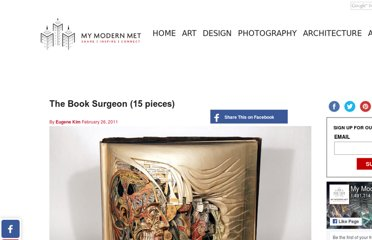 http://www.mymodernmet.com/profiles/blogs/the-book-surgeon-15-pieces
