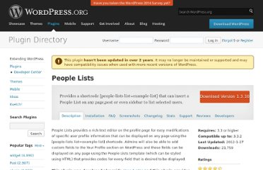 http://wordpress.org/extend/plugins/people-lists/