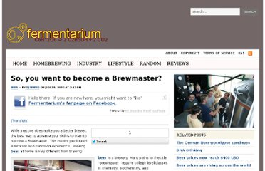 http://www.fermentarium.com/industry/beer-industry/so-you-want-to-become-a-brewmaster/