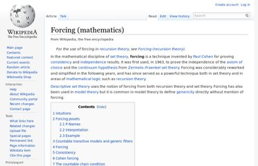 http://en.wikipedia.org/wiki/Forcing_(mathematics)