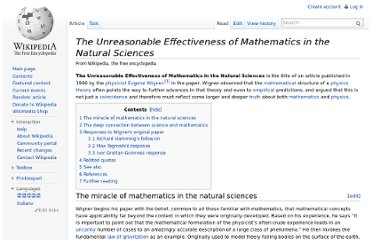 http://en.wikipedia.org/wiki/The_Unreasonable_Effectiveness_of_Mathematics_in_the_Natural_Sciences