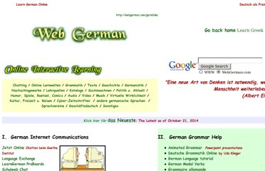http://webgerman.com/germlinks/